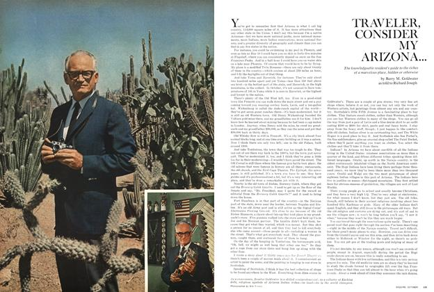 Article Preview: Traveler, Consider My Arizona..., October 1966 | Esquire