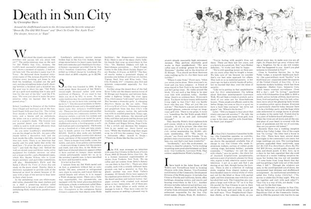 Article Preview: Death in Sun City, October 1966 | Esquire