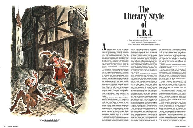 The Literary Style of L.B.J.