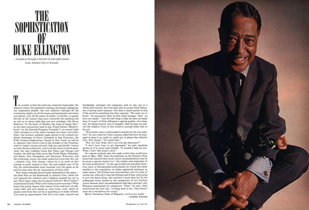 Article Preview: The Sophistication of Duke Ellington, DECEMBER 1966 1966 | Esquire