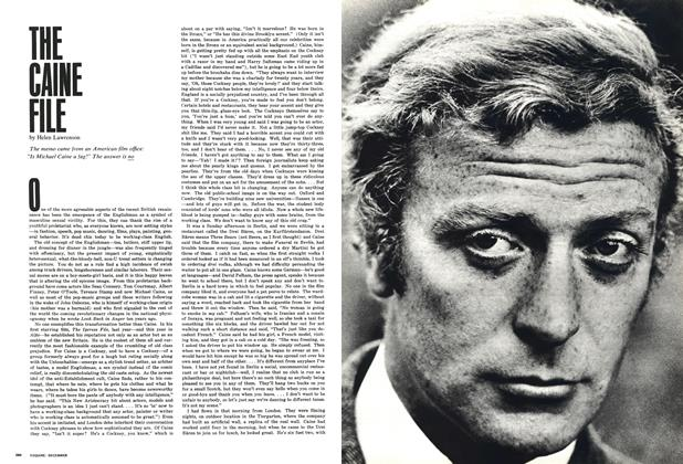 Article Preview: The Caine File, DECEMBER 1966 1966 | Esquire