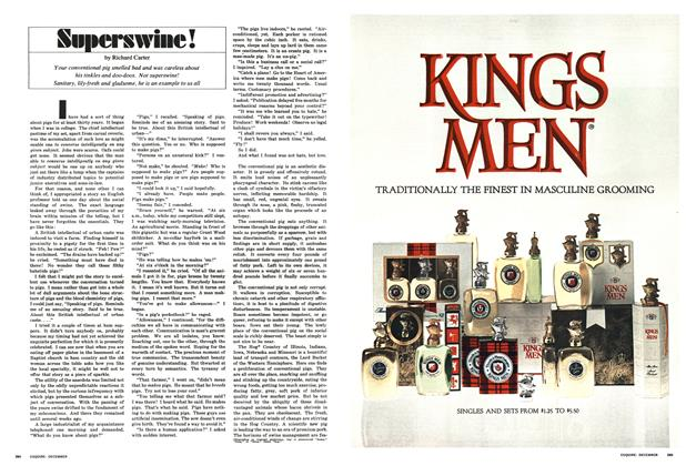 Article Preview: Superswine!, December 1966 | Esquire