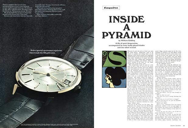 Article Preview: Inside a Pyramid, December 1966 | Esquire