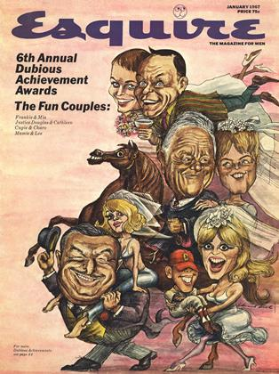 Cover for the January 1967 issue