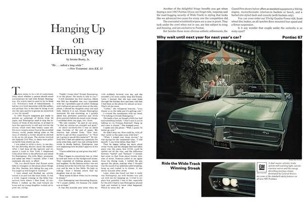 Hanging Up on Hemingway