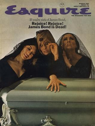 Cover for the March 1967 issue