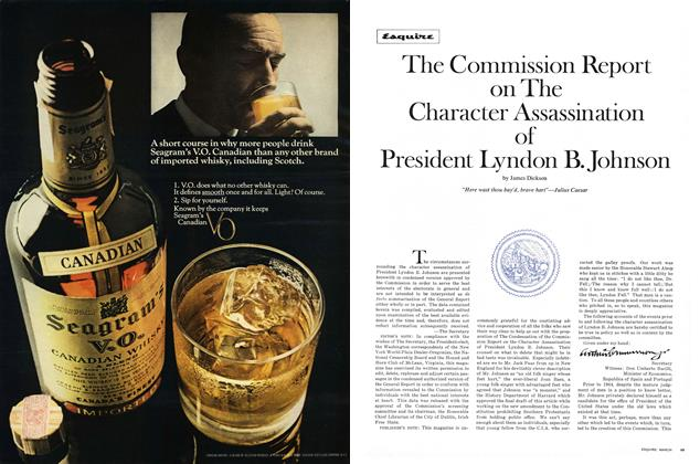 The Commission Report on the Character Assassination of President Lyndon B. Johnson