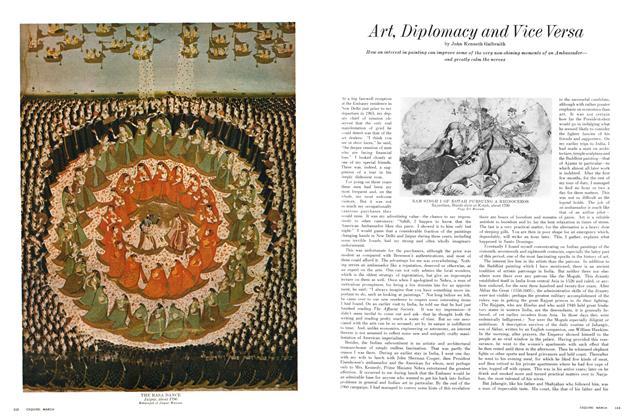 Art, Diplomacy and Vice Versa