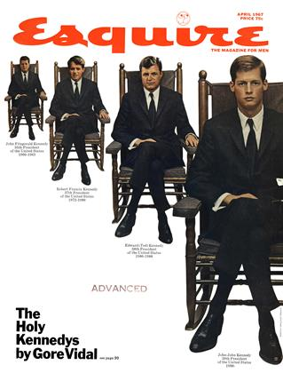 Cover for the April 1967 issue