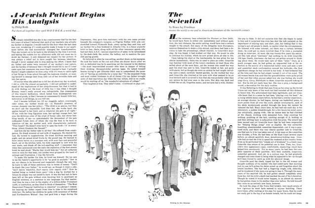 Article Preview: A Jewish Patient Begins His Analysis, APRIL 1967 1967 | Esquire