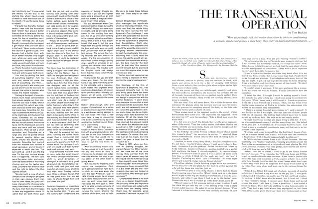 Article Preview: The Transsexual Operation, April 1967 | Esquire