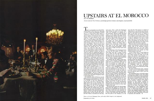 Article Preview: UPSTAIRS AT EL MOROCCO, APRIL 1967 1967 | Esquire