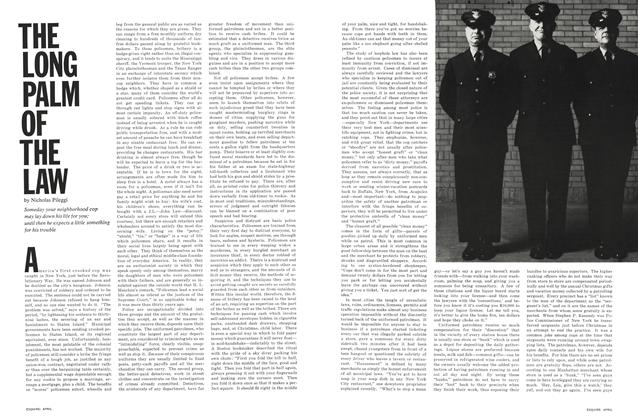 Article Preview: The Long Palm of the Law, APRIL 1967 1967 | Esquire
