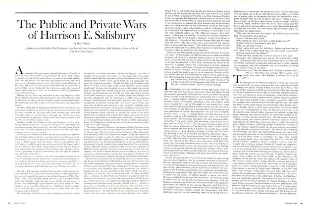 The Public and Private Wars of Harrison E. Salisbury