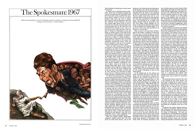 Article Preview: The Spokesman: 1967, JUNE 1967 1967 | Esquire