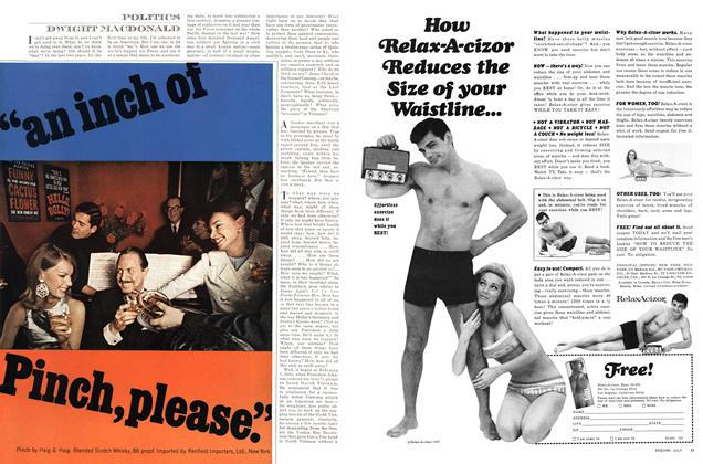 Article Preview: Politics, JULY 1967 1967 | Esquire