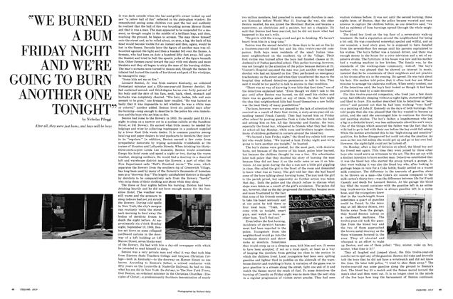 """Article Preview: """"We Burned a Bum Friday Night and We're Going to Burn Another One Tonight"""", JULY 1967 1967 