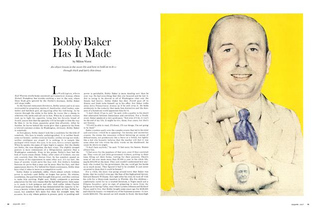 Article Preview: Bobby Baker Has It Made, JULY 1967 1967 | Esquire