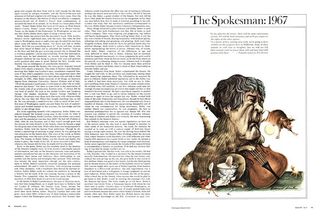 Article Preview: The Spokesman: 1967, JULY 1967 1967 | Esquire