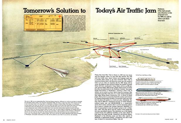 Tomorrow's Solution to Today's Air Traffic Jam