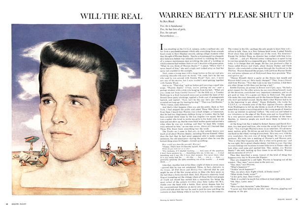 Will the Real Warren Beatty Please Shut Up