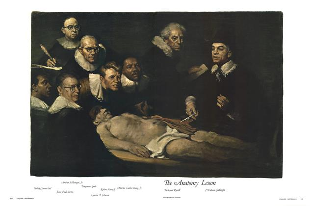 Article Preview: The Anatomy Lesson, SEPTEMBER 1967 1967 | Esquire