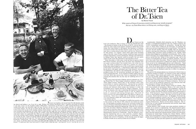 Article Preview: The Bitter Tea of Dr. Tsien, SEPTEMBER 1967 1967 | Esquire