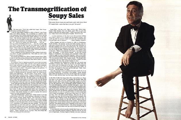 Article Preview: The Transmogrification of Soupy Sales, OCTOBER 1967 1967 | Esquire