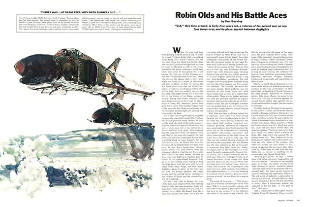 Article Preview: Robin Olds and His Battle Aces, OCTOBER 1967 1967 | Esquire