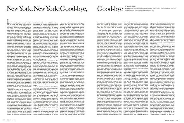 New York, New York: Good-bye, Good-bye