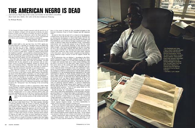 Article Preview: The American Negro Is Dead, NOVEMBER 1967 1967 | Esquire
