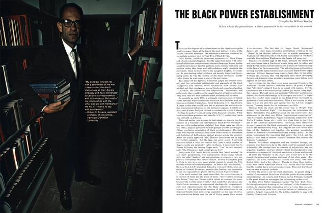 The Black Power Establishment