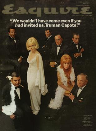 Cover for the December 1967 issue