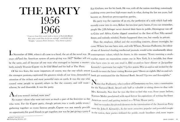 Article Preview: The Party 1956 1966, DECEMBER 1967 1967 | Esquire