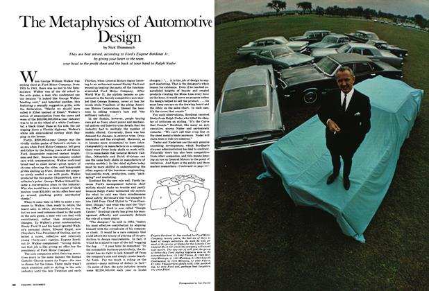 Article Preview: The Metaphysics of Automotive Design, December 1967 | Esquire