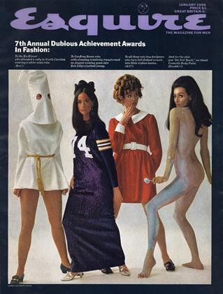 Cover for the January 1968 issue