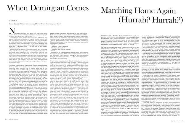 When Demirgian Comes Marching Home Again (Hurrah? Hurrah?)