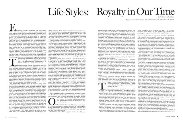 Life-Styles: Royalty in Our Time