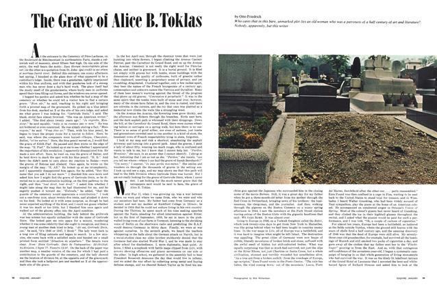 Article Preview: The Grave of Alice B. Toklas, JANUARY 1968 1968 | Esquire