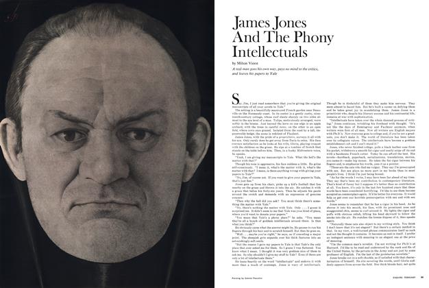 Article Preview: James Jones and the Phony Intellectuals, February 1968 | Esquire