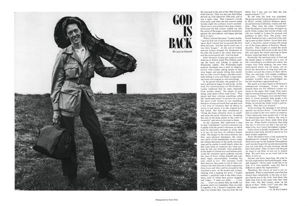 Article Preview: God Is Back, FEBRUARY 1968 1968 | Esquire