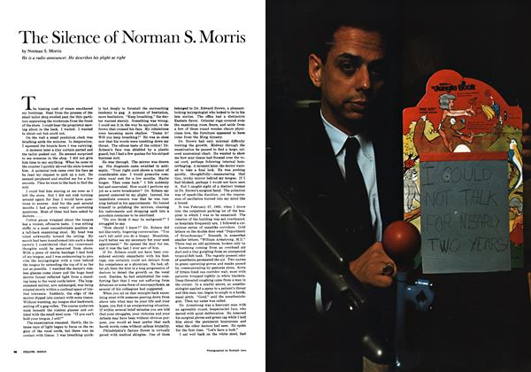 The Silence of Norman S. Morris