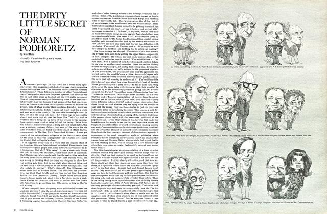 Article Preview: The Dirty Little Secret of Norman Podhoretz, April 1968 | Esquire