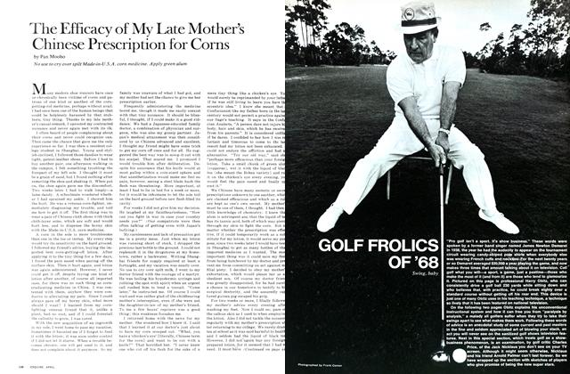Article Preview: Golf Frolics of '68, April 1968 | Esquire