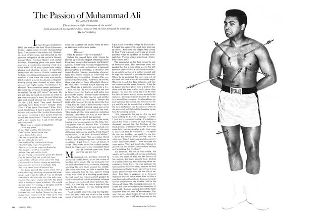 Article Preview: The Passion of Muhammad Ali, APRIL 1968 1968 | Esquire