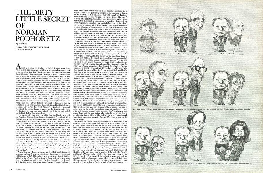 The Dirty Little Secret of Norman Podhoretz | Esquire