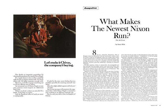 Article Preview: What Makes the Newest Nixon Run?, May 1968 | Esquire