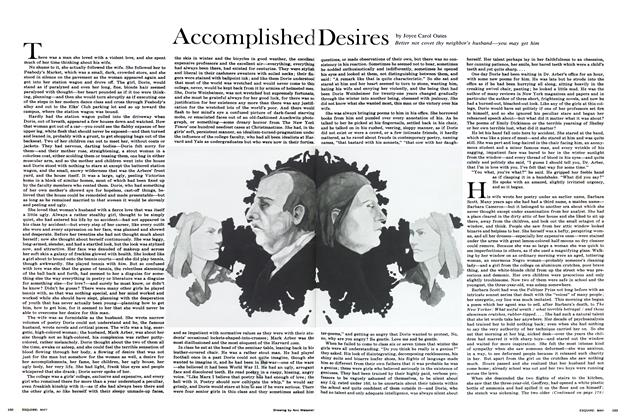 Article Preview: Accomplished Desires, May 1968 | Esquire