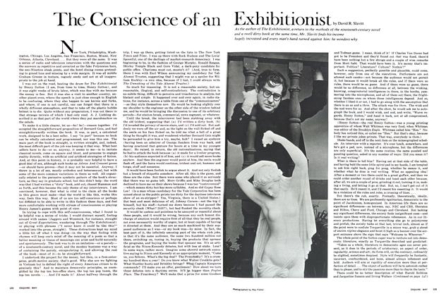 Article Preview: The Conscience of An Exhibitionist, May 1968 | Esquire