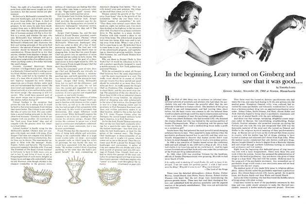 Article Preview: In the Beginning, Leary Turned on Ginsberg and Saw That It Was Good... And Then Leary and Ginsberg Decided to Turn on the World, July 1968 | Esquire
